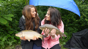 Chloe and Cindy - Get into Fishing