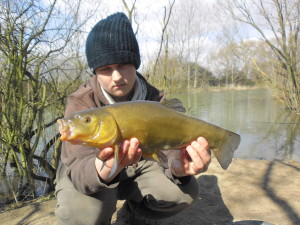 Connor Kershaw Tench - Get into Fishing